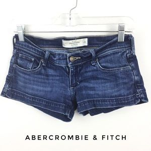 3/$9 ABERCROMBIE & FITCH JEAN SHORTS